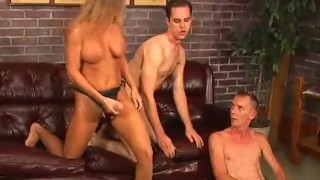 Bi Bi American Pie 6 - Scene 3  bi cumshots threesome anal fmm heels pornhub.com guy on guy pegging trimmed blowjob blonde