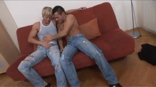 Bi Now Gay Later 2 - Scene 3  euro blonde cumshot fetish stocking milf bi kinky rimming ass-fucking heels anal corset facial pornhub.com big dicks