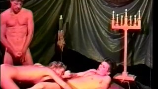 Big Buff And Bi 2 - Scene 3  pornhub.com bi fmm blowjob cumshots hairy threesome classic anal small-tits vintage pussy-licking ass-fucking