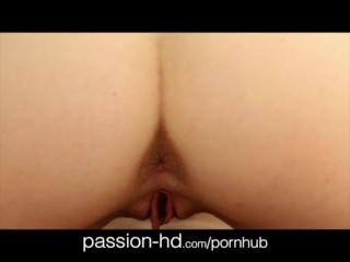 Passion-HD passionate 19yo creampie