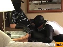 Spandex Spanking And Sucking - Scene 1