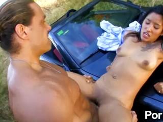 Fucking carmen in the woods