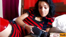 Jordanne Kali fuck on the hardcam and swallows her man's cum