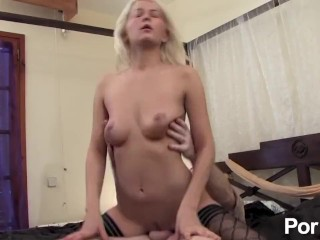 Lora Row is a cute blonde which loves to fuck and swallow