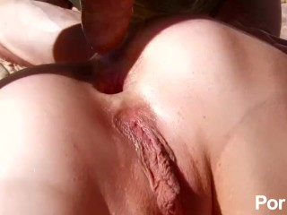 Hot Blonde Picked-Up On The Beach