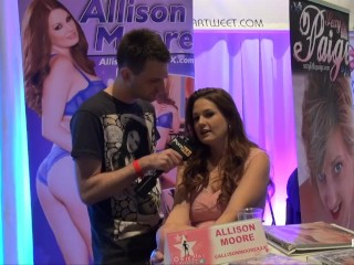 PornhubTV with Allison Moore at eXXXotica 2013
