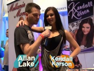 Pornhub TV with Kendall Karson at eXXXotica 2013