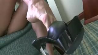 Cassandra Cruz showing sexy heels  feet pornstar trampling femdom fetish amateur