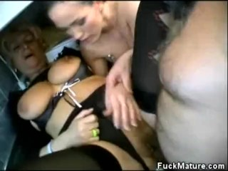 Hot Threesome Matures