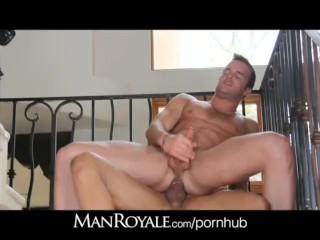 ManRoyale Country boys fuck on Spanish tile