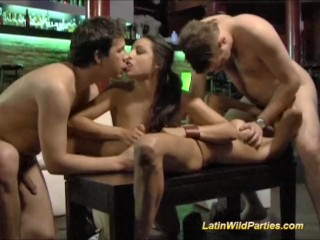 Latin wild parties hard fuck and oral penetrations