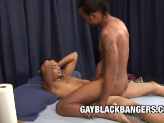 A Fantastic Ass Stretching From Black Dudes Braedon Fox and Sincere Luv