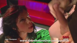 Hot pole dancer Mia goes through rounds of fucking and cum swallowing