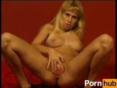 German girl gives great solo show