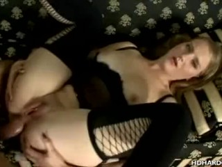 Hot Babe In Latex Anal Fucked And Sucks Cock