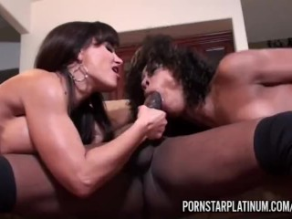 Misty Stone Threesome With Lisa Ann