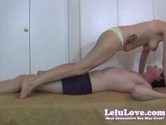 Lelu Love-Wrestling Female Domination Grinding