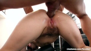 LiveGonzo Bobbi Starr Hot Brunette Does Anal For Fun  hard dick cumshot small tits cum big dick nasty young hardcore brunette slut latino anal latin horny facial bubble butt livegonzo huge