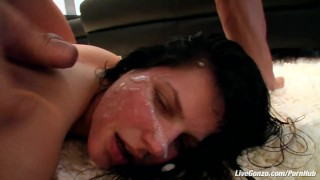 LiveGonzo Bobbi Starr Hot Brunette Does Anal For Fun young hardcore bubble butt slut cumshot latino small tits anal brunette huge cum big dick latin horny livegonzo nasty hard dick facial