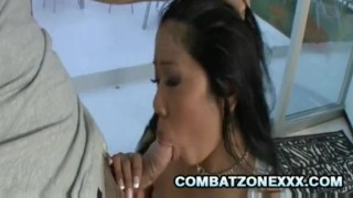 Bustillicious Asian Kya Tropic Tit Fucking A Throbbing Cock fellatio face-fuck asian oriental big ass blowjob oral-sex cumshot big-tits interracial rough-sex chubby tit-fuck doggy style missionary exotic busty facial