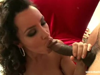 SuperMILF Lisa Ann Doing Anal Hardcore with a Big Brutha
