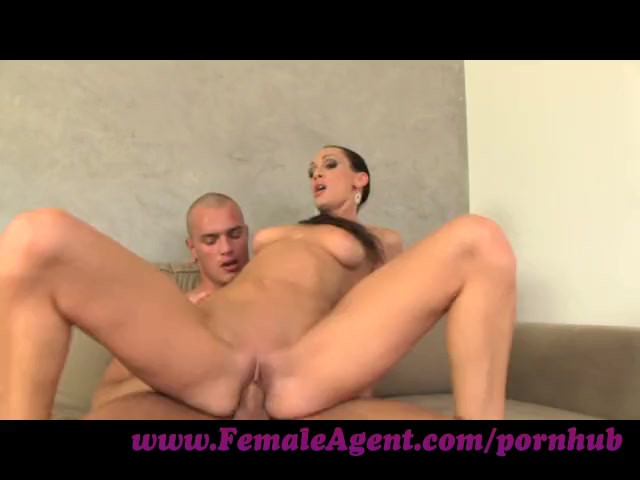FemaleAgent. Gorgeous stud in mind blowing casting
