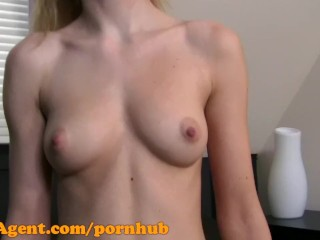 FakeAgent HD 19 year old student perfect creampie