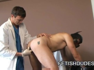 A Gay Medical Fetish Humiliation Procedure From Dr Derrick Paul