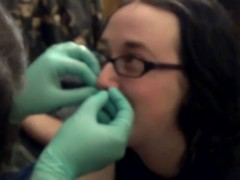 Getting pierced (since some of you may enjoy it)