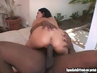 Big Black Dick In Hot Latin Chick