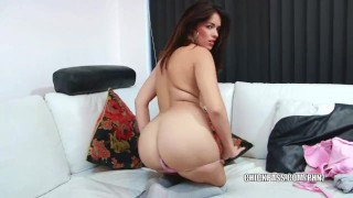 Preview 1 of Petite coed Ava Dalush fucks her pussy with a toy