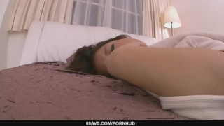Satomi Suzukis Tight MILF Pussy Creampied In POV  japanese milf hardcore point of view 69avs asian oriental