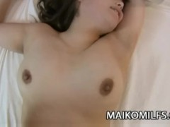 Tomoka Kuroki - Hot Japanese MILF Penetrated By Toys And A Cock