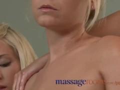Massage Rooms Hot girl enjoys horny lesbian massage and has hardcore orgasm