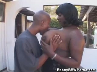 Cock Slurping Black BBW Honey Fucked