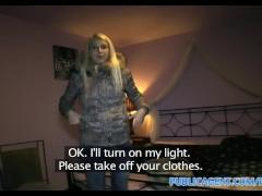 PublicAgent HD Blonde gets fucked in her virgin white underwear