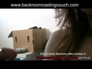 Talia Backroom Casting Couch - Full Vid