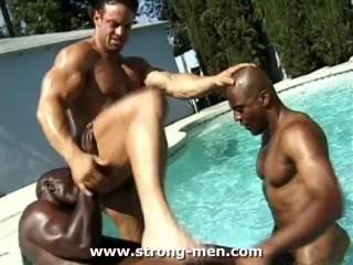 Amazing Black Muscle Hunks