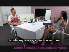 FemaleAgent. Tie my hands and fuck me