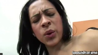 Preview 5 of Two Alluringly Hot Latin Chicas Gets Pounded And Jizzed