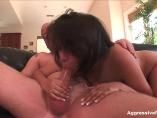 Cheating boyfriend plugs Busty Latina