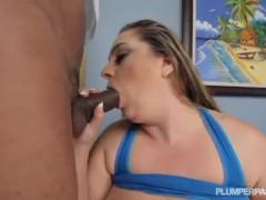 BBW April McKenzie Takes A Big Black Cock in Her Ass