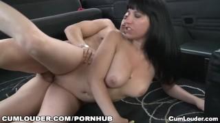 Preview 4 of Brenda Boop fucks hard in a van in her first scene