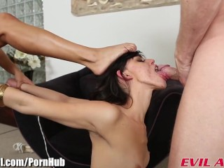 EvilAngel Binky Bangs Old and Young Anal