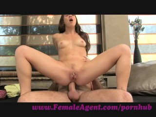 FemaleAgent. Anal delight on the casting couch