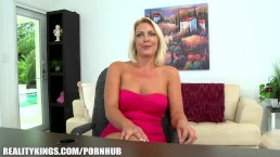 Reality Kings - First timer needs quick cash. Good thing she's gorgeous