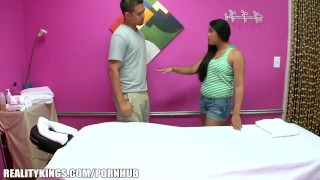 Reality Kings - Hidden camera massage turns into sex for cash  cash for ass ass babe hairy asian blowjob big dick massage handjob strip wet oil orgasm hidden camera big boobs realitykings.com