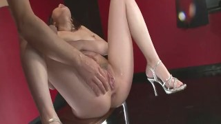 Tomoka Sakurai In Lingerie Gets Her Pussy Fingered milf asian oriental landing strip amateur mom squirting fingering shiofuky natural-tits mother close-up japanese small-tits orgasm high-heels