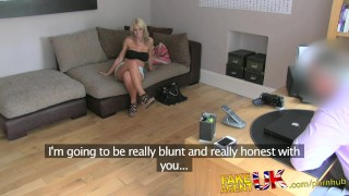 FakeAgentUK Busty MILF and her magic pussy causes premature problems fakeagentuk audition homemade clit rubbing blonde mom british office cumshot mother deepthroat bubble-butt huge-tits reality casting interview doggystyle