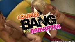 Sweet Babysitter Seduced By Swinger Couple
